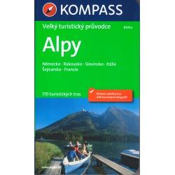 Alpy - Velký turistický průvodce Kompass