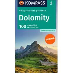 Velký turistický průvodce - Dolomity
