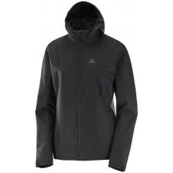 Salomon Essential JKT W black 393799 dámská nepromokavá bunda