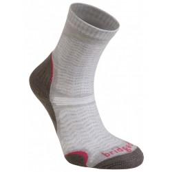 Bridgedale WoolFusion Ultra Light Women's mushroom dámské trekové ponožky Merino vlna