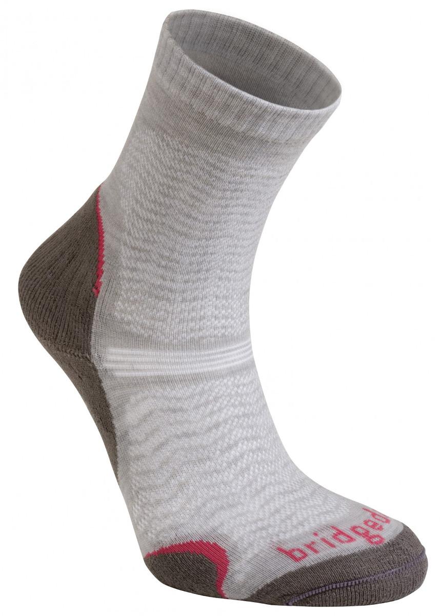 edc560a91ec Bridgedale WoolFusion Ultra Light Women´s mushroom dámské trekové ponožky  Merino vlna