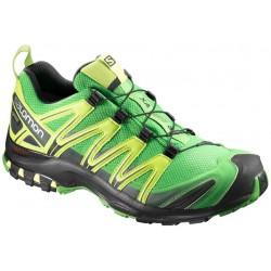 Salomon XA Pro 3D GTX classic green/yellow 398531 pánské nepromokavé běžecké boty (1)