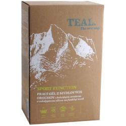 Teal Sport Function 2x 1l prací gel z mýdlových ořechů na funkční textil