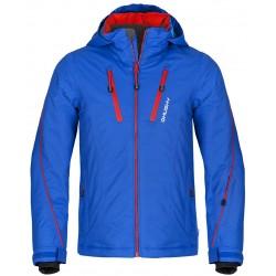 Husky Lona modrá dětská nepromokavá zimní lyžařská bunda Aquablock Plus
