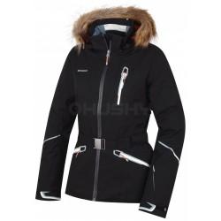 Husky Walera černá dámská nepromokavá zimní lyžařská bunda HuskyTech 20000