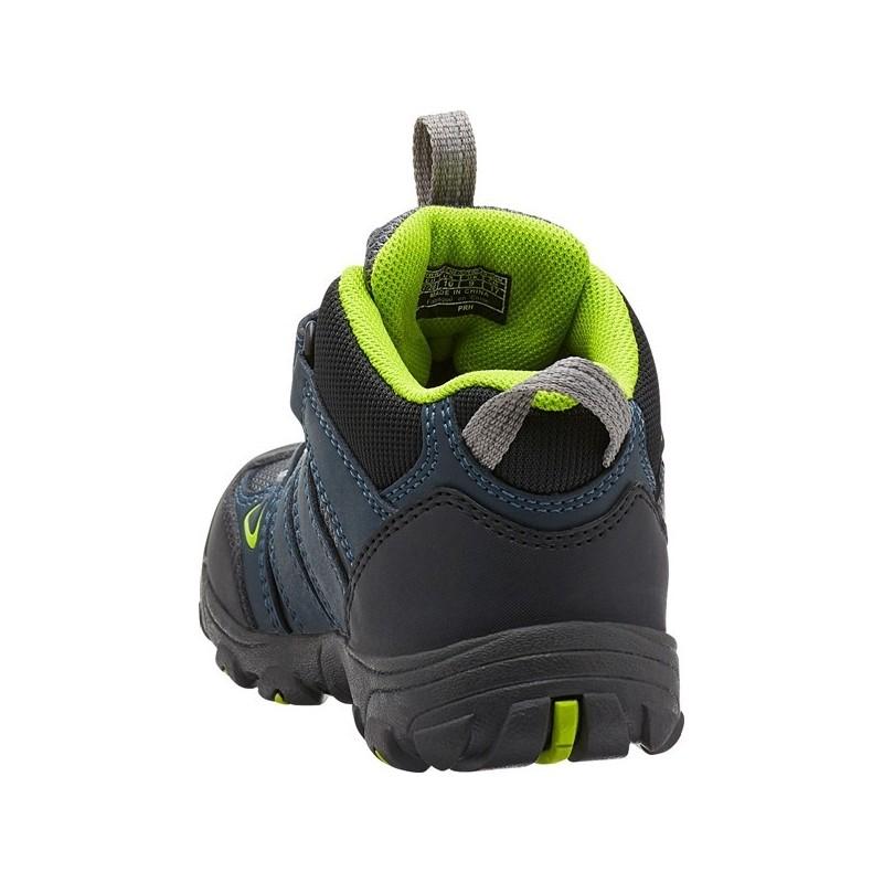 d9455e6382a ... Keen Oakridge Mid WP K midnight navy macaw dětské nepromokavé trekové  boty (1) ...