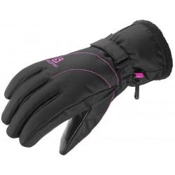 Salomon Force GTX W black 394991 dámské lyžařské rukavice