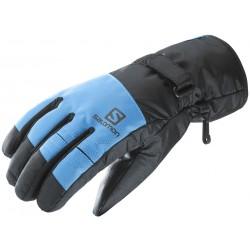 Salomon Force GTX M black/hawaiian surf 394990 pánské lyžařské rukavice