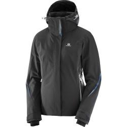Salomon Brilliant Jacket W black 396879 dámská nepromokavá zimní lyžařská bunda