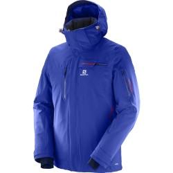 Salomon Brilliant Jacket M surf the web 397298 pánská nepromokavá zimní lyžařská bunda