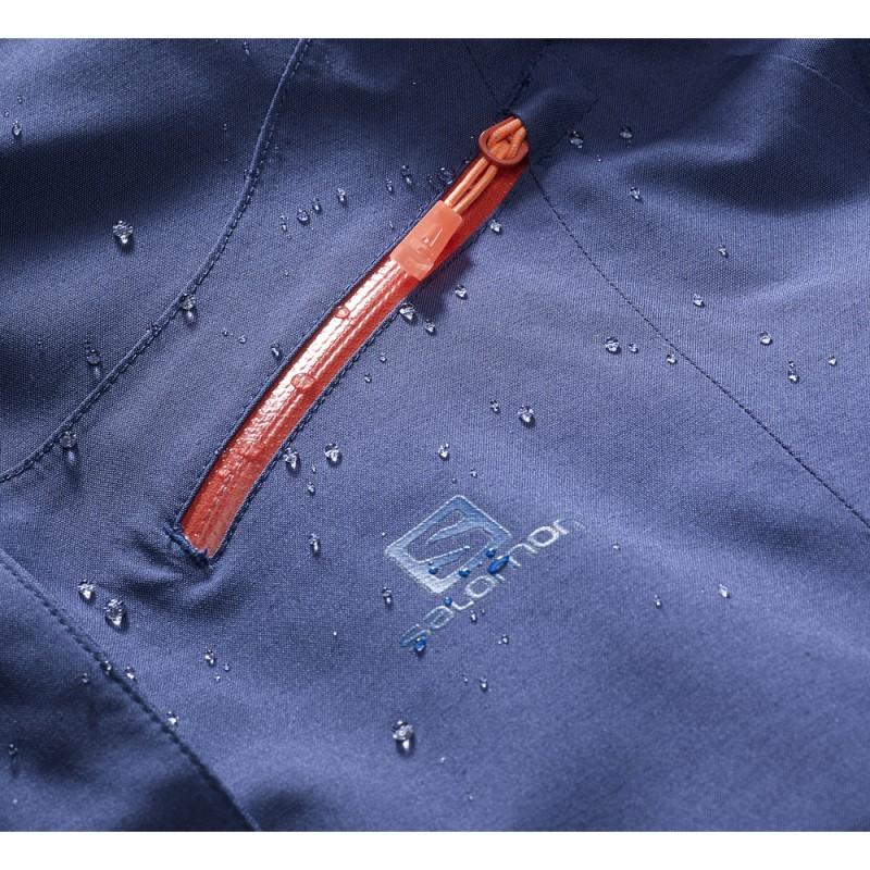 ... Salomon Fantasy Jacket W medieval blue 396921 dámská nepromokavá zimní  lyžařská bunda (3) b9330a01ec