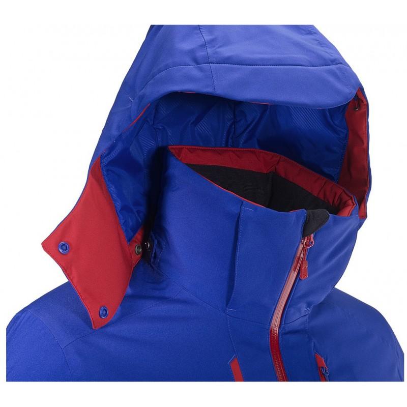... Salomon Stormrace Jacket M vivid orange 397360 pánská nepromokavá zimní  lyžařská bunda (3) ... 1a66d1f0e1a