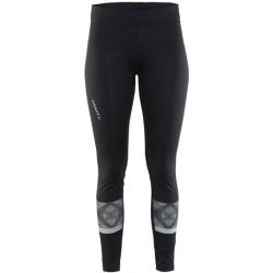 Craft Brilliant 2.0 Light Tights Wmn 9999 Black dámské elastické běžecké kalhoty