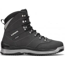 Lowa Sedrun GTX Mid black/grey pánské zimní nepromokavé kožené boty