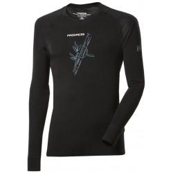 Progress Eco E NDR černá, model 2018 pánské triko dlouhý rukáv bambus