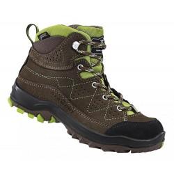 Garmont Escape Tour GTX Jr brown dětské nepromokavé kožené trekové boty