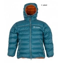 Sir Joseph Buni petrolejová dětská zimní péřová bunda