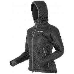 Sir Joseph Spike Hooded Lady tmavě šedá dámská zimní bunda Tyrolská vlna