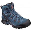 Salomon Quest Prime GTX W mallard blue/living coral 392929 dámské nepromokavé trekové boty