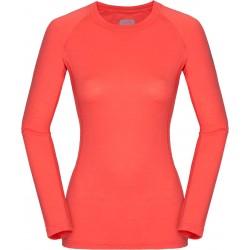 Zajo Elsa Merino W T-shirt LS coral dámské triko dlouhý rukáv Merino vlna