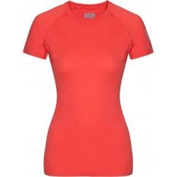 Zajo Elsa Merino W T-shirt SS coral dámské triko krátký rukáv Merino vlna