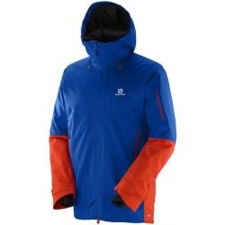 Salomon Qst Guard Jkt M blue yonder 382351 pánská nepromokavá zimní lyžařská bunda