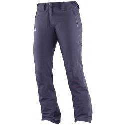Salomon Iceglory Pant W nightshade grey 382614 dámské nepromokavé zimní lyžařské kalhoty
