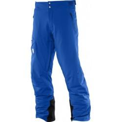 Salomon Whitelight Pant M blue yonder 391065 pánské nepromokavé zimní lyžařské kalhoty