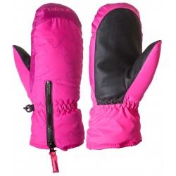 Relax Puzzyto RR17B růžová dětské lyžařské palcové rukavice