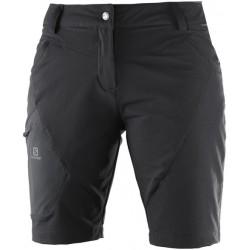 Salomon Wayfarer Utility Bermuda W black 392976 dámské softshellové šortky