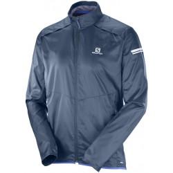 Salomon Agile Jacket M dress blue 392688 pánská lehká větruodolná bunda