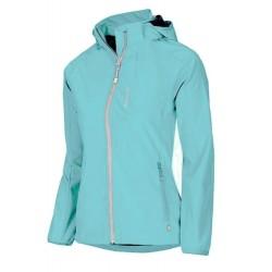 Husky Beky světle modrá dámská softshellová bunda Extend-Plus Softshell 5000