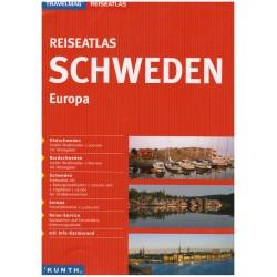 Kunth Švédsko 1:300 000 autoatlas