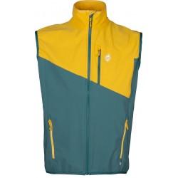 High Point Drift Vest pacific/yellow pánská softshellová vesta