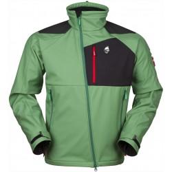 High Point Stratos Jacket elm green pánská softshellová bunda BlocVent 3L