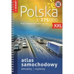 DEMART Polsko XXL 1:275 000 autoatlas