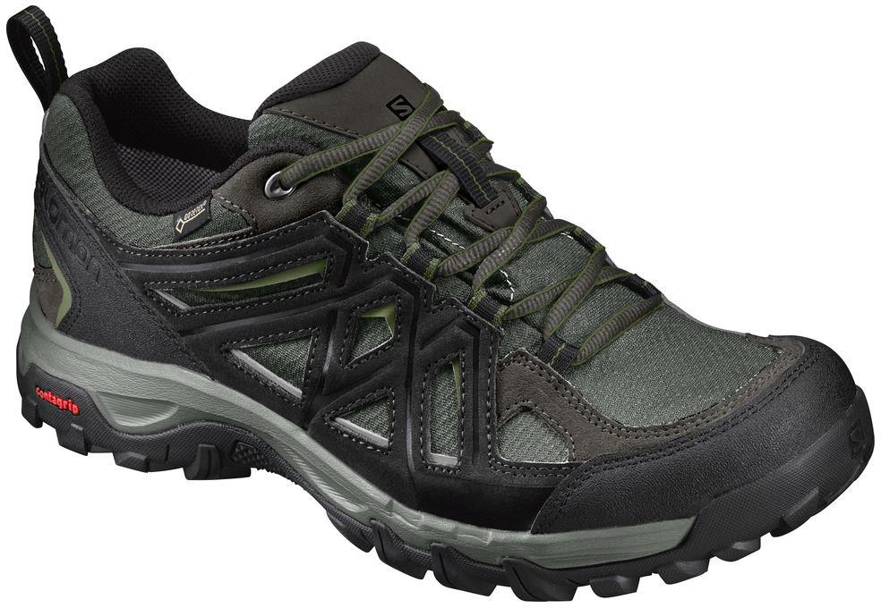 Salomon Evasion 2 GTX castor gray black chive 393586 pánské nízké  nepromokavé boty 5742bb81244