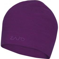d6a694115a6 Zajo Hals Typo Merino Beanie dark purple čepice Merino vlna