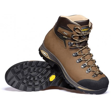 6810cc99cb0 Asolo Fandango Duo GV ML GTX brown dámské nepromokavé kožené trekové boty