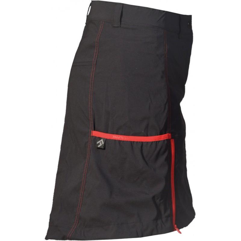 a9626d954d5 ... Direct Alpine Jasmin 1.0 black red dámská sportovní sukně 3 ...