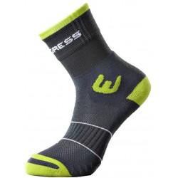 Progress Walking šedá/zelená trekové ponožky ClimaWell