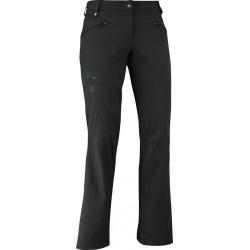 Salomon Wayfarer Pant W black 363397 dámské lehké softshellové kalhoty (1)