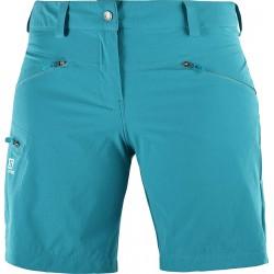 Salomon Wayfarer Short W enamel blue 401098 dámské lehké softshellové kraťasy