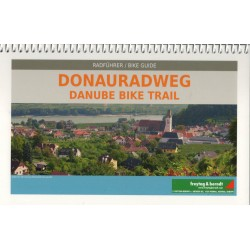 Freytag a Berndt Donauradweg/Dunajská cyklostezka 1:250 000 cykloprůvodce