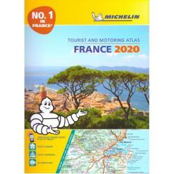 Michelin Francie 1:200 000 autoatlas