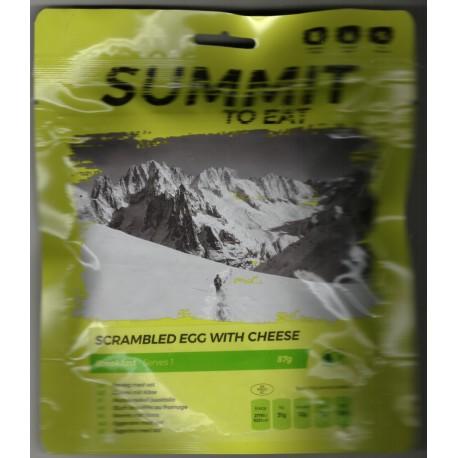 Summit To Eat Míchaná vajíčka se sýrem 1 porce expediční strava (2)