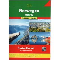 Freytag a Berndt Norsko 1:250 000/1:400 000 autoatlas