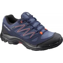 3793f32e065 Salomon Cilaos GTX W crown blue evening blue 404455 dámské nízké nepromokavé  boty