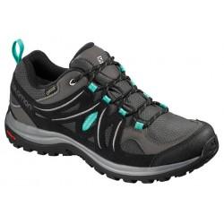 Salomon Ellipse 2 GTX W Magnet/Black/Atlantis 404718 dámské nízké nepromokavé boty