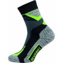 Novia Silvertex Alpinning zelené trekové funkční ponožky